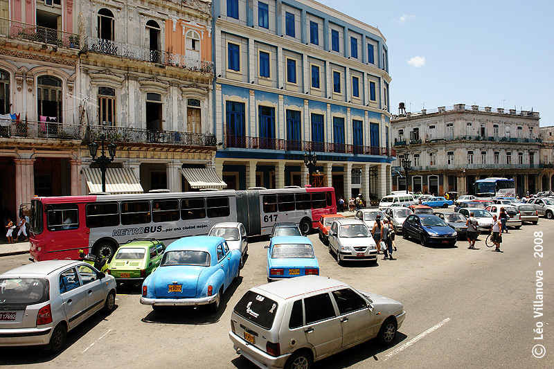transporte em Havana