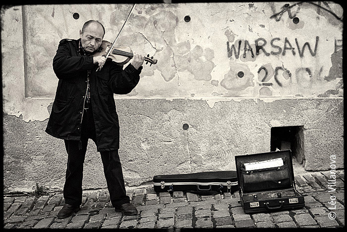 Praga – Violinista
