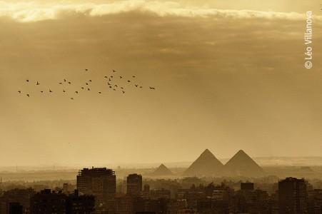 Cairo - Piramides ao longe
