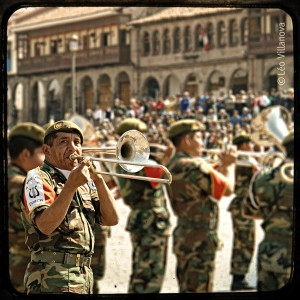 Cusco - banda marcial