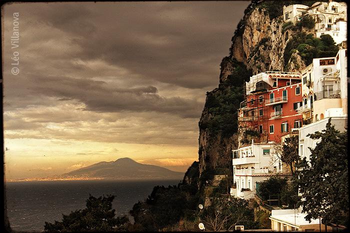 Capri e Vesúvio