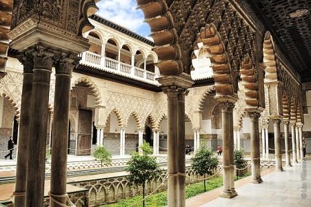 - Alcazar - patio de las doncelas 800