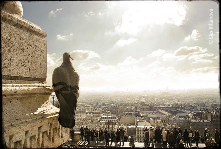 - Montmartre - Vue de Paris Sud 02