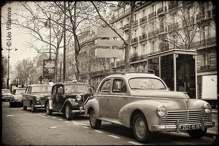 - Paris - Vieux automobiles