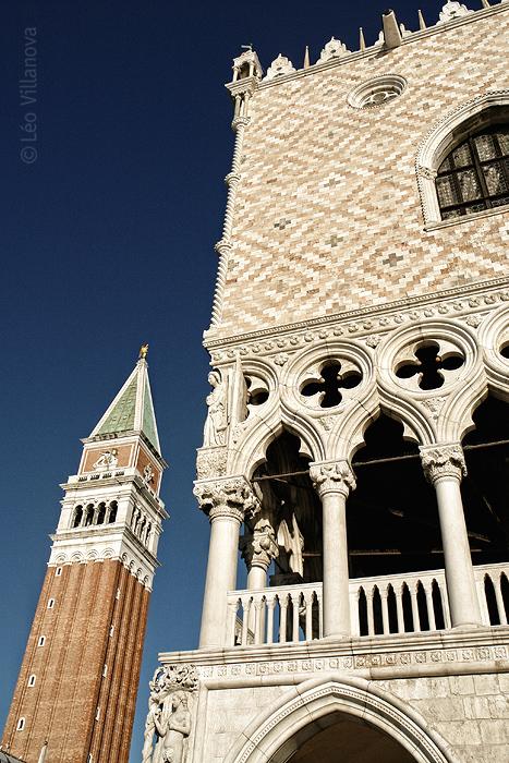 Venezia - detalhe Ducale e torre