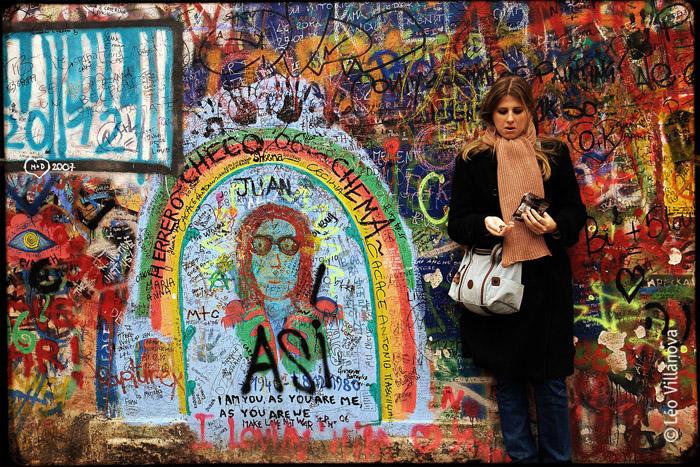 muro colorido
