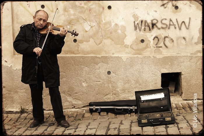 violin