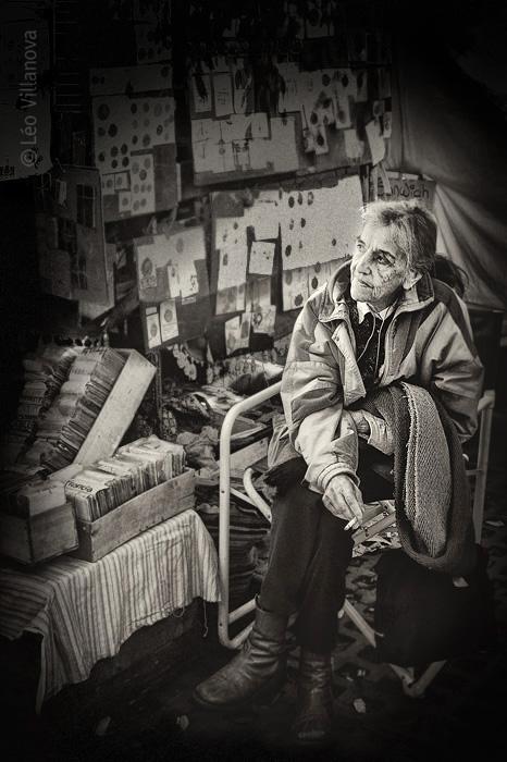 La mujer y las monedas