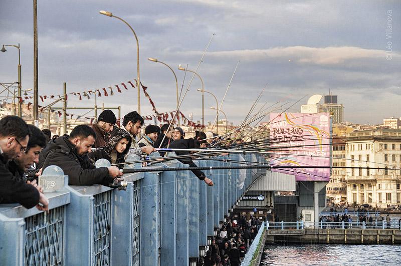 Istanbul - Galata Bridge 01