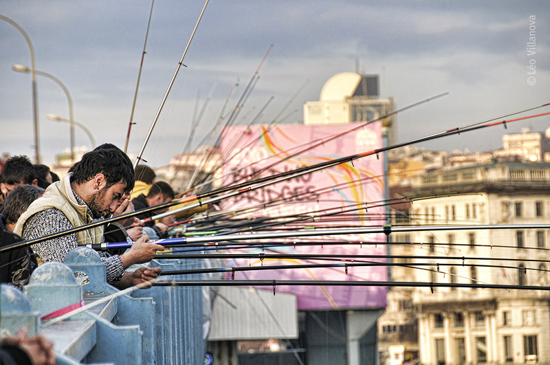 Istanbul - Galata Bridge 02