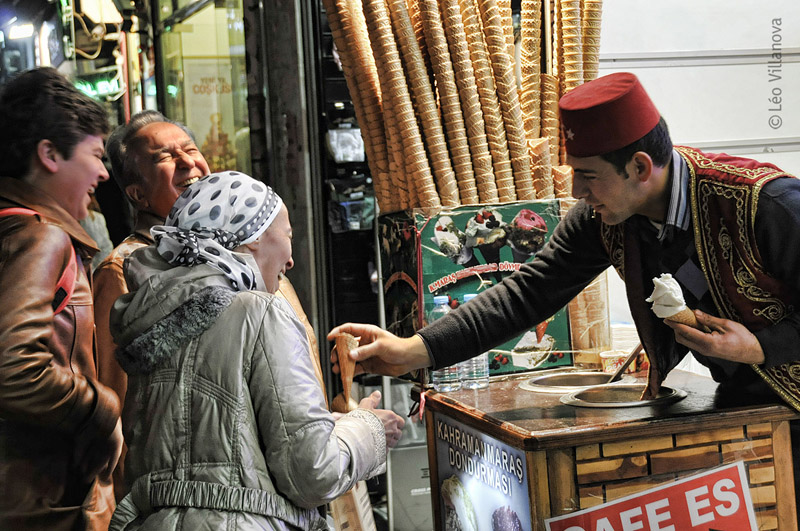 Istanbul - Ice cream 01