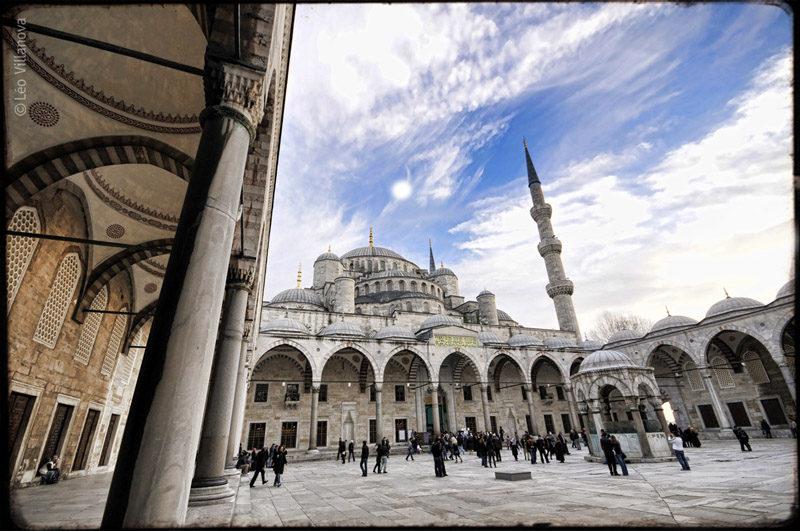 Istanbul - The Blue Mosque 04