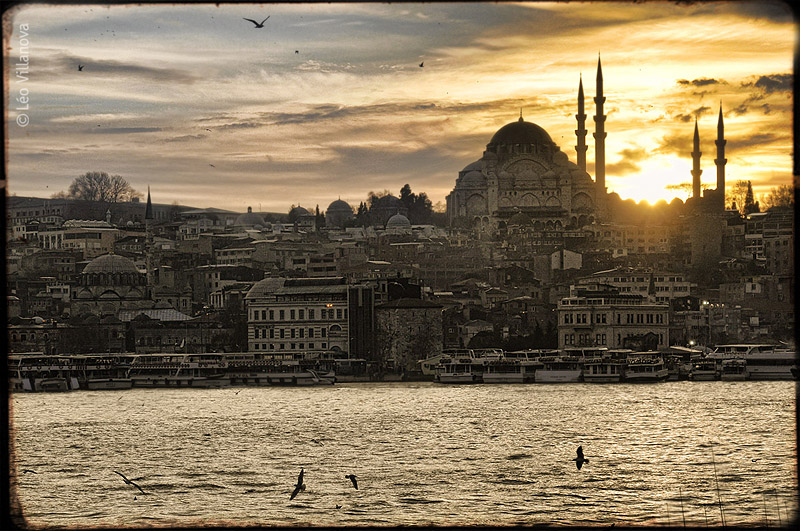 Istanbul - sunset 01