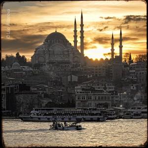 Istanbul - sunset 03
