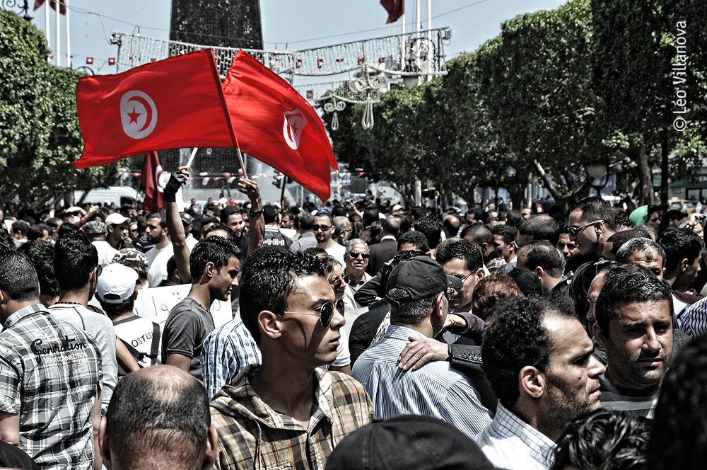 O 1º de maio que deu trabalho em Tunis