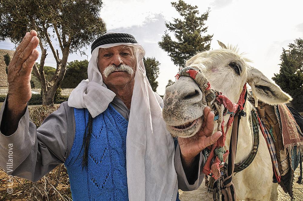 Jerusalem-O homem e o burro