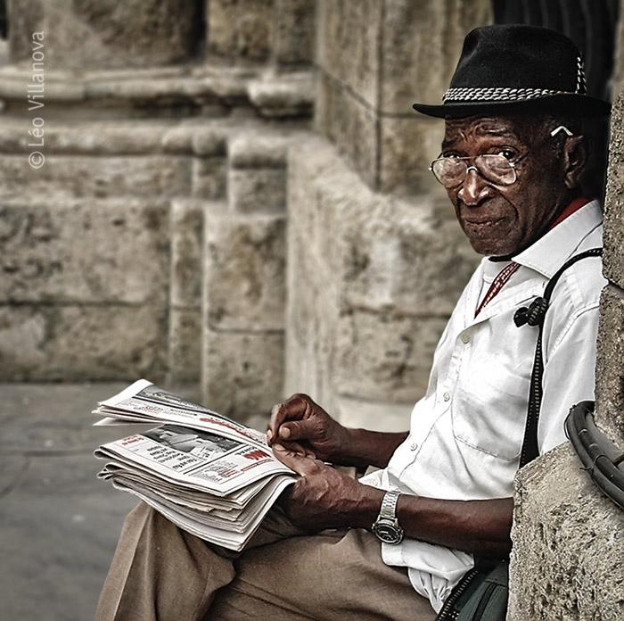 La Habana - El vendedor de periodicos PB