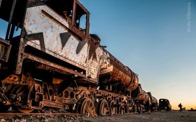 Cemitério de Trens de Uyuni é metáfora existencial