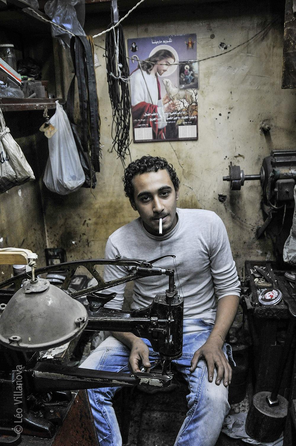 Cairo - Dahab, o sapateiro2