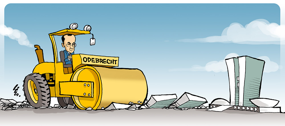 Resultado de imagem para departamento de operações estruturadas da odebrecht charge